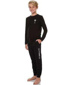 BLACK KIDS BOYS SWELL PANTS - S3173449BLK