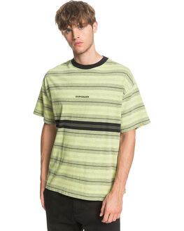 GREEN GLOW MENS CLOTHING QUIKSILVER TEES - EQYKT03962-GFW3