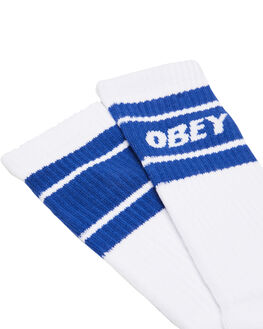 WHITE ULTRAMARINE MENS CLOTHING OBEY SOCKS + UNDERWEAR - 100260093UMR
