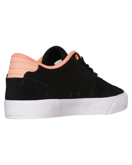 BLACK OUTLET MENS HUF SNEAKERS - VC00085-BLK