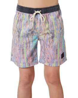 WRASSE BLUE KIDS BOYS RUSTY BOARDSHORTS - BSB0343WRB