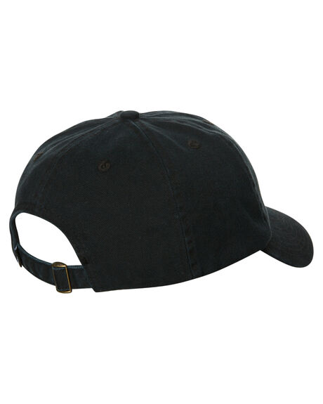 BLACK MENS ACCESSORIES STUSSY HEADWEAR - ST785000BLK