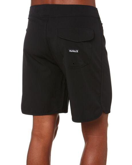 BLACK MENS CLOTHING HURLEY BOARDSHORTS - CK4529010