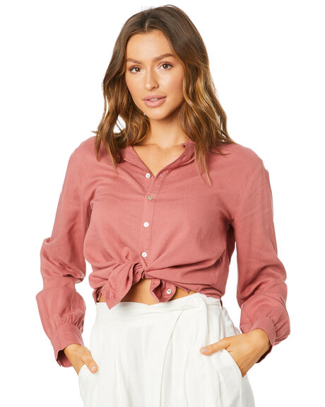 ROSE WOMENS CLOTHING TIGERLILY FASHION TOPS - T305054ROS