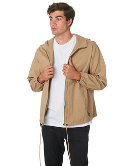 TAN MENS CLOTHING SWELL JACKETS - S5194381TAN