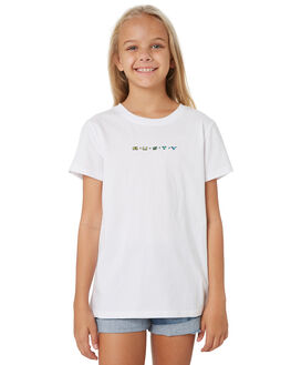 WHITE KIDS GIRLS RUSTY TOPS - TTG0002WHT