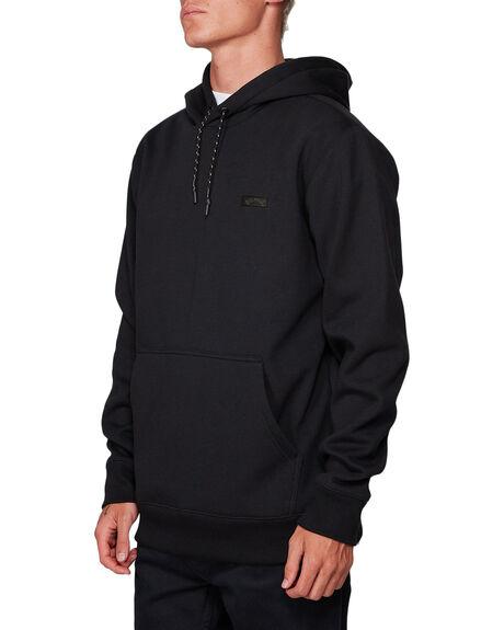 BLACK MENS CLOTHING BILLABONG HOODIES + SWEATS - BB-9507611-BLK