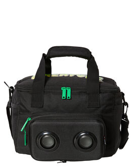 BLACK MENS ACCESSORIES THE BUMBAG CO BAGS + BACKPACKS - CO059BLK