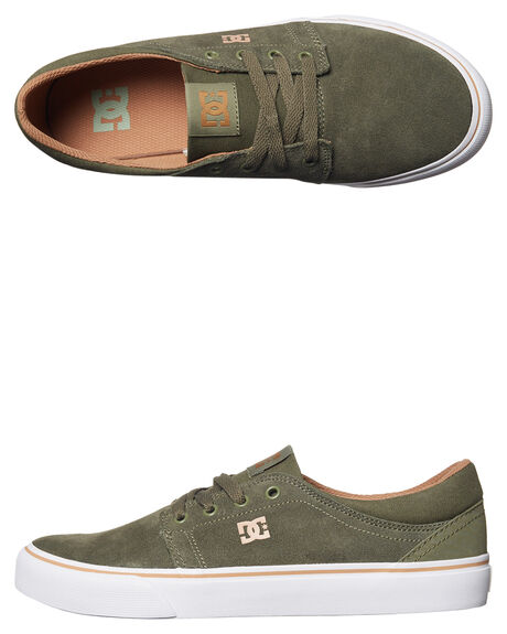 OLIVE MENS FOOTWEAR DC SHOES SNEAKERS - ADYS300172OLV
