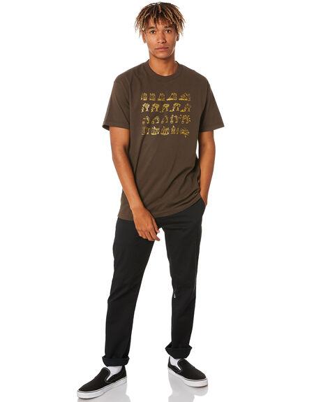 DARK CHOC MENS CLOTHING PASS PORT TEES - PPWCWBFTDKCHC