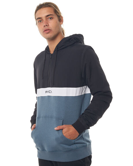 BLACK OUTLET MENS RVCA JUMPERS - R184154BLK