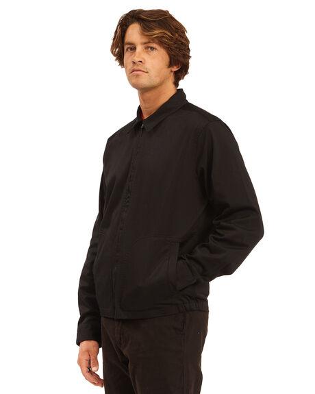 BLACK MENS CLOTHING BILLABONG JACKETS - 9513912-BLK