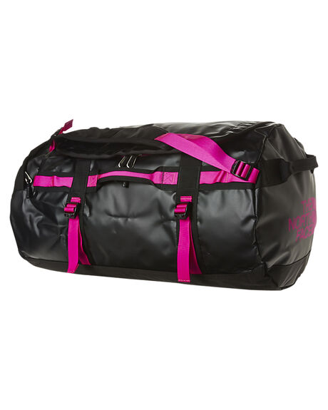 6224e2ae5f The North Face Base Camp 69L Duffle Bag - Black Luminous Pink ...