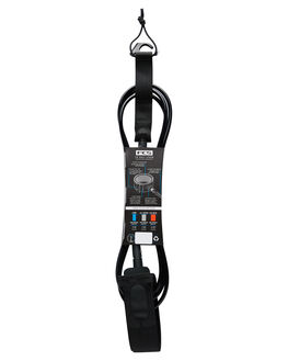 BLACK BOARDSPORTS SURF FCS LEASHES - EARC-BLK-09FBLK