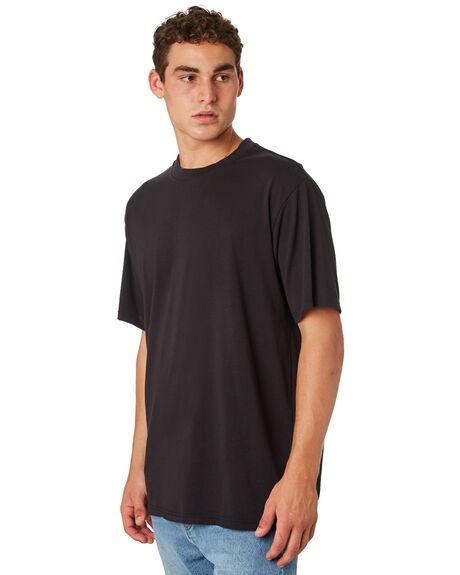 FLINT BLACK MENS CLOTHING ELEMENT TEES - 186023FLBLK