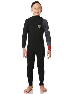BLACK RED BOARDSPORTS SURF RIP CURL BOYS - WSM8OS4019