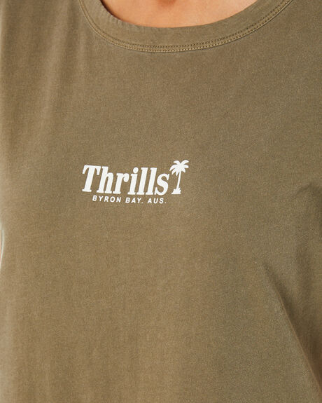 DESERT WOMENS CLOTHING THRILLS TEES - WTH20-101CDEST