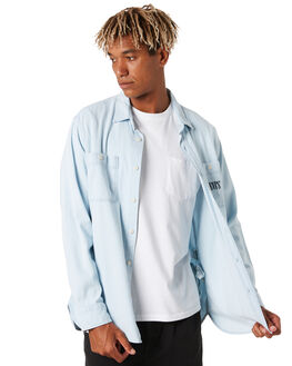 SUN BLEACHED INDIGO MENS CLOTHING LEVI'S SHIRTS - 85478-0000SNBLI
