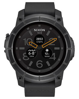 ALL BLACK MENS ACCESSORIES NIXON WATCHES - A1167-001-00BLK