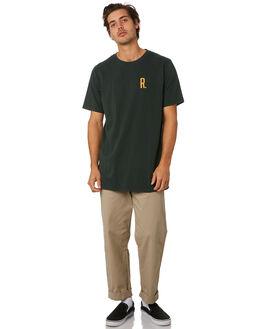 DARK GREEN MENS CLOTHING RPM TEES - 9WMT02ADKGRN