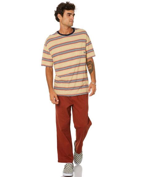 TAN MENS CLOTHING MISFIT TEES - MT015101TAN