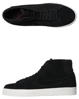 BLACK PRO PURPLE WOMENS FOOTWEAR NIKE SNEAKERS - SSAH6416-001W