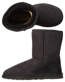 BLACK MENS FOOTWEAR UGG AUSTRALIA UGG BOOTS - SSTID34BLKM