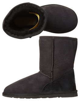 BLACK WOMENS FOOTWEAR UGG AUSTRALIA UGG BOOTS - SSTID34BLKW