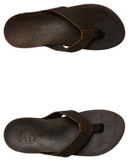 CHOCOLATE MENS FOOTWEAR KUSTOM THONGS - 4984224CHOC
