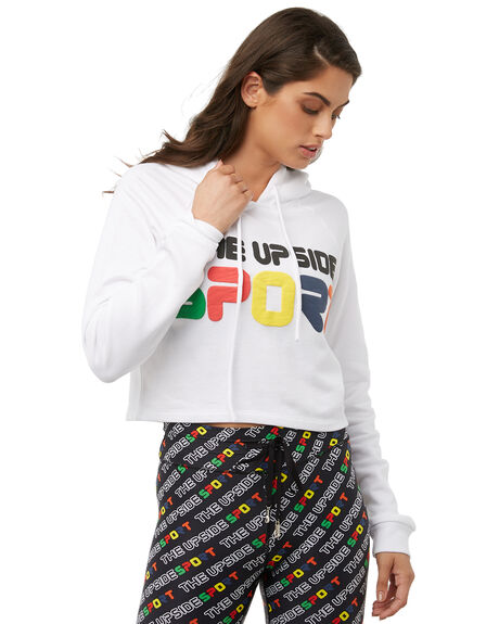 WHITE WOMENS CLOTHING THE UPSIDE JUMPERS - UPL1744WHT