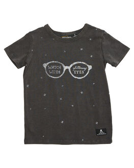 CHARCOAL MARLE KIDS TODDLER GIRLS ROCK YOUR BABY TEES - TGT1836-GECHR