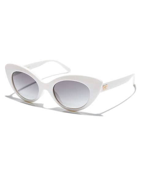 GLOSS WHITE GREY UNISEX ADULTS CRAP SUNGLASSES - 163X02GFGLWHT