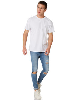 SCUZZ BLUES MENS CLOTHING A.BRAND JEANS - 81247B4291