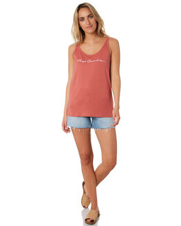 ROSE RED WOMENS CLOTHING RIP CURL SINGLETS - GTEDR23435