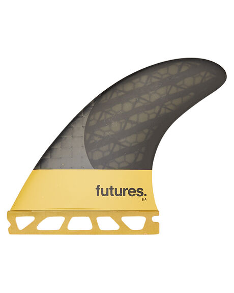 YELLOW SURF HARDWARE FUTURE FINS FINS - FEA-020416YEL