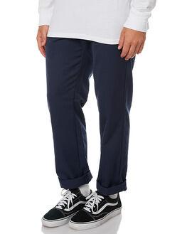 NAVY MENS CLOTHING CARHARTT PANTS - I020074-7702NVY