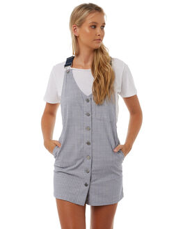 STRIPE WOMENS CLOTHING VOLCOM PLAYSUITS + OVERALLS - B1311802STP