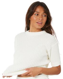 WHITE WOMENS CLOTHING RUE STIIC FASHION TOPS - SW-20-K-13-W-CWHT