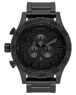 ALL MATTE BLACK MENS ACCESSORIES NIXON WATCHES - A083-3086-MTBLK