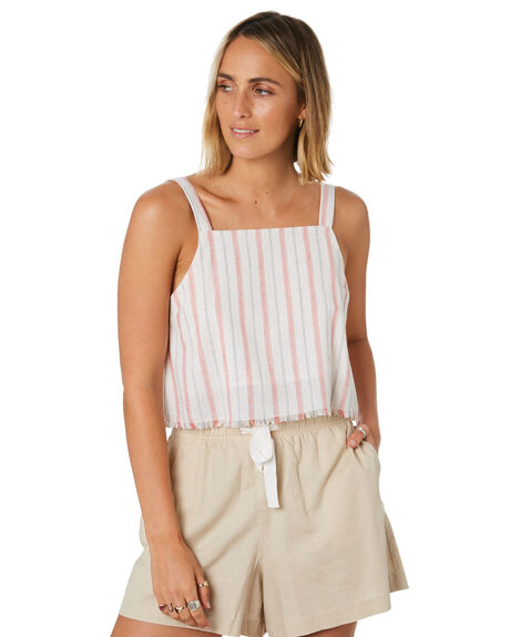 STRIPE WOMENS CLOTHING NUDE LUCY FASHION TOPS - NU23790STP