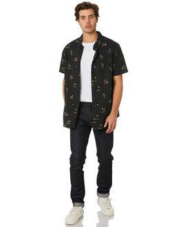 BLACK MENS CLOTHING BILLABONG SHIRTS - 9595204BLK