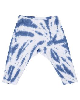 BLUE TYE DYE KIDS BABY MUNSTER KIDS CLOTHING - MI172PA03BLU