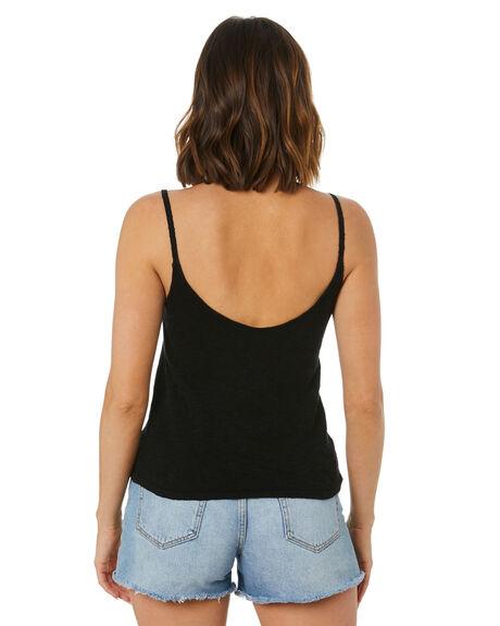 BLACK WOMENS CLOTHING SWELL FASHION TOPS - S8212168BLACK