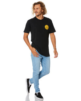 BLACK MENS CLOTHING CAPTAIN FIN CO. TEES - CT194004BLK