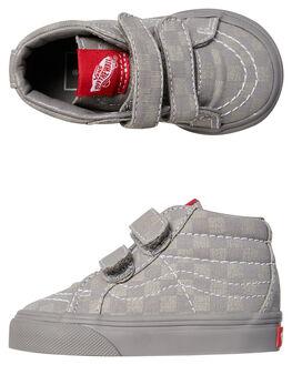 GRAY GRAY KIDS TODDLER BOYS VANS FOOTWEAR - VNA348JQ1AGRY