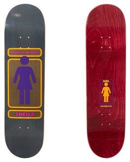 MULTI BOARDSPORTS SKATE GIRL DECKS - GB3801MULTI