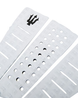 ALL WHITE BLACK BOARDSPORTS SURF FK SURF TAILPADS - 1204BWHTBK