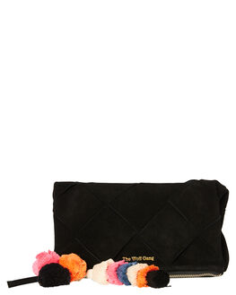 NOIR SUEDE WOMENS ACCESSORIES THE WOLF GANG PURSES + WALLETS - TWGWAY001BLNOIR