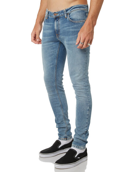 LIGHT BLUE POWER MENS CLOTHING NUDIE JEANS CO JEANS - 112983LBP