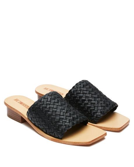 BLACK WOMENS FOOTWEAR SOL SANA FASHION SANDALS - SS202W433BLK